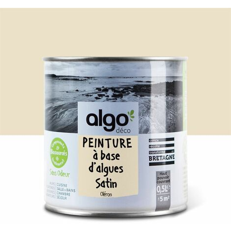 Peinture écologique Algo à base d'algues 100% naturelles - Satin