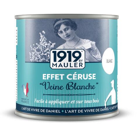 """Peinture effet Céruse """"Veine Blanche"""" 0,5L"""