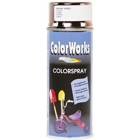 Peinture effet chromé aérosol