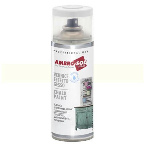 Peinture effet craie 400 ml Blanc crème - Blanc crème