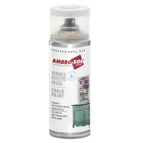 Peinture effet craie 400 ml Blanc pur - Blanc pur