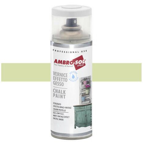 Peinture effet craie 400 ml Vert pâle - Vert pâle