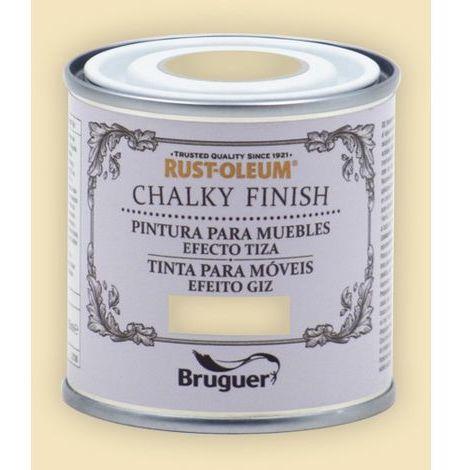 Peinture effet craie Chalk Paint Rust-Oleum Xylazel | 125 ml - 803 Cream