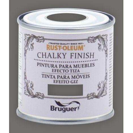 Peinture effet craie Chalk Paint Rust-Oleum Xylazel | 125 ml - 814 Anthracite