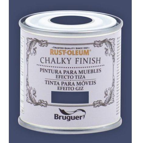 Peinture effet craie Chalk Paint Rust-Oleum Xylazel | 125 ml - Bleu Intense