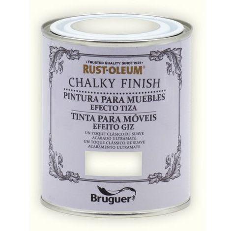 Peinture effet craie Chalk Paint Rust-Oleum Xylazel | 750 ml - 801 craie blanche