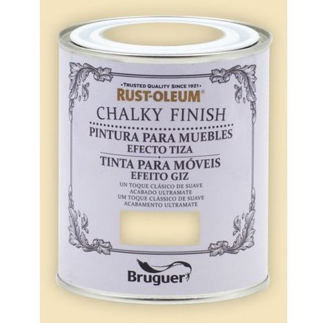 Peinture effet craie Chalk Paint Rust-Oleum Xylazel | 750 ml - 803 Cream