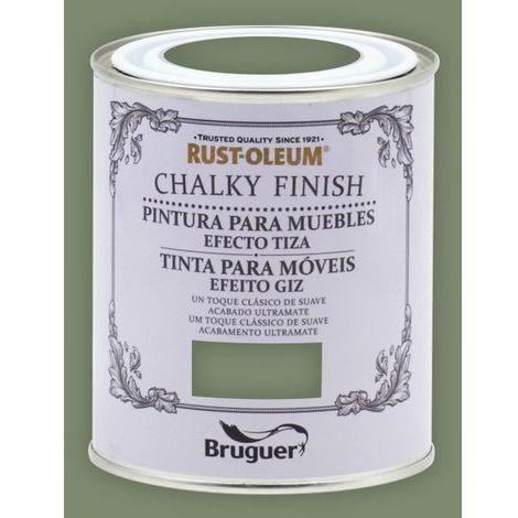 Peinture effet craie Chalk Paint Rust-Oleum Xylazel | 750 ml - 811 olives