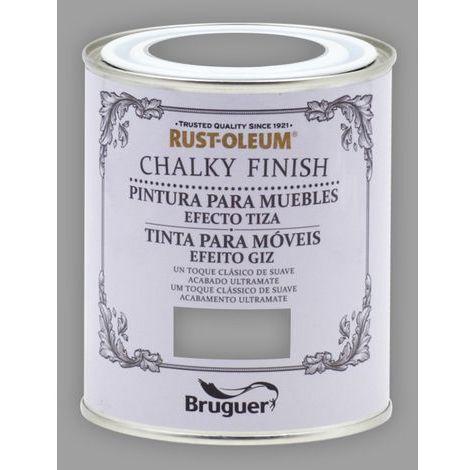Peinture effet craie Chalk Paint Rust-Oleum Xylazel | 750 ml - 815 Hiver Gris