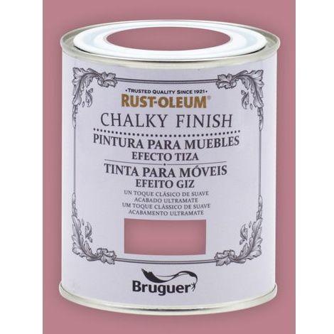 Peinture effet craie Chalk Paint Rust-Oleum Xylazel | 750 ml - 816 Old Rosa