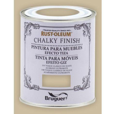 Peinture effet craie Chalk Paint Rust-Oleum Xylazel | 750 ml - Brun Jute