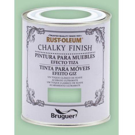 Peinture effet craie Chalk Paint Rust-Oleum Xylazel | 750 ml - Vert Laurier