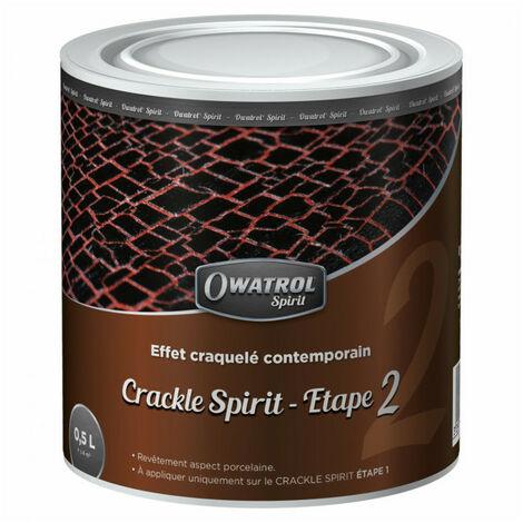 Peinture effet craquelé contemporain Crackle Spirit - Étape 2 - 0,5L OWATROL