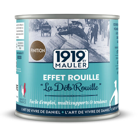 """Peinture effet Rouille """"La Déb'Rouille"""" - Kit 0,75L"""