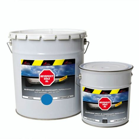 Peinture epoxy autolissante sols - REVEPOXY AL