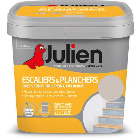 Peinture Escaliers Planchers Satin Grain De Sable 2 L Julien