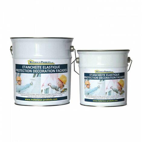 Peinture Etanche & Elastique Pour Protection Façade Blanc