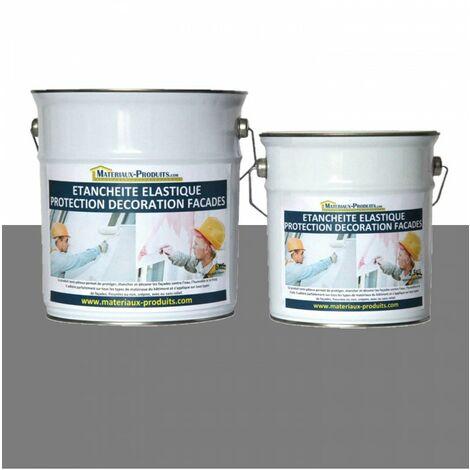 Peinture Etanche & Elastique Pour Protection Façade Gris Ardoise