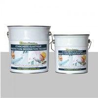 Peinture Etanche & Elastique Pour Protection Façade Gris Perle