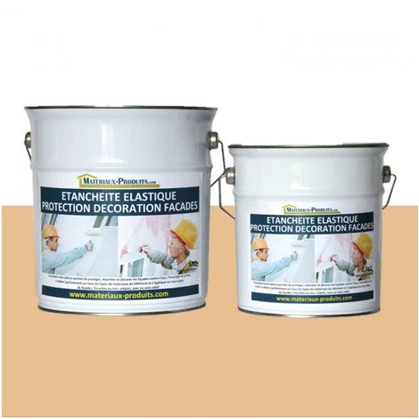 Peinture Etanche & Elastique Pour Protection Façade Paille