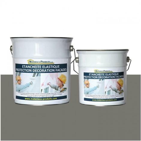 Peinture Etanche & Elastique Pour Protection Façade Taupe