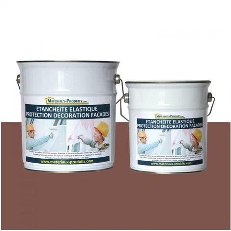 Peinture Etanche & Elastique Pour Protection Façade Ton bois