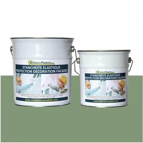 Peinture Etanche & Elastique Pour Protection Façade Vert Clair