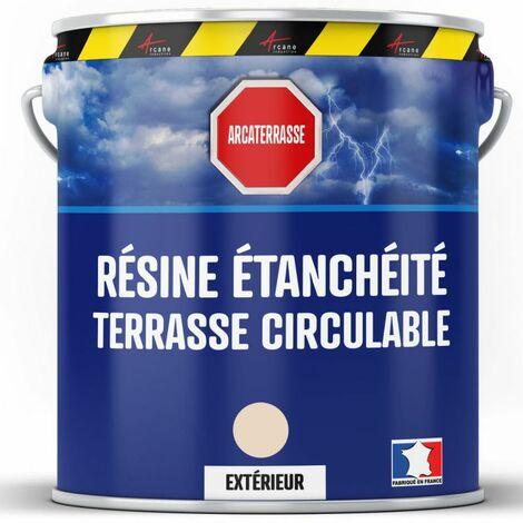 Peinture Etanche Resine D Etancheite Pour Terrasse Balcon Sol Exterieurs Arcane Industries Sable 2 5 L 21 23459