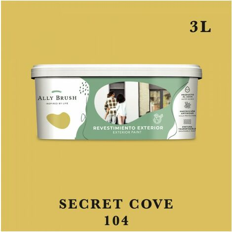 PEINTURE EXTÉRIEURE ALLY BRUSH SECRET COVE 3L