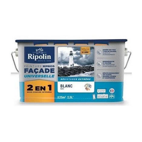 Peinture façade 2,5L 2 en 1 Xpro RIPOLIN - plusieurs modèles disponibles
