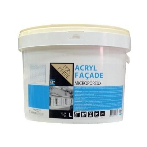 Peinture façade acrylique 10L