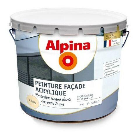 Peinture façade acrylique 5 ans 10L