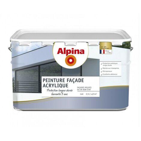 Peinture façade acrylique 5 ans 2,5L