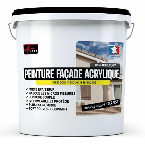 Peinture Façade Acrylique Hydrofugée - 14 Couleurs -  ARCAFACADE