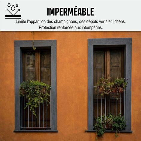 Peinture facade d'étanchéité renovation mur extérieur decoration ARCAFACADE