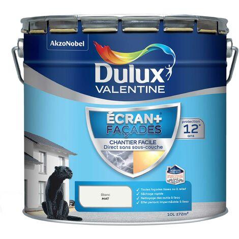 Peinture Façade Ecran+ Chantier Facile - Dulux Valentine