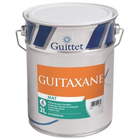Peinture façade Guittet Guitaxane mat 3L Blanc | Finition: Mat - Couleur: Blanc