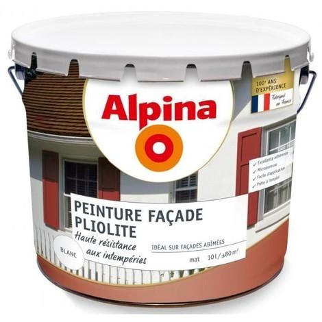 Peinture façade pliolite 10L Blanc