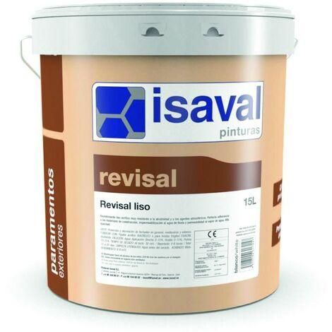 Peinture Façade Revisal Lisse 15 Litres RAL 1002 Jaune Sable - Isaval