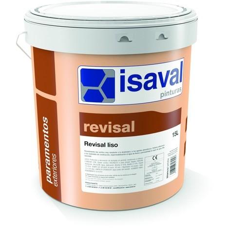 "main image of ""Peinture Façade Revisal Lisse 4 Litres RAL 1002 Jaune Sable -Isaval"""