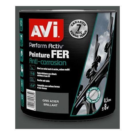 Peinture Fer Anti-corrosion, Perform Activ, Brillant, Avi
