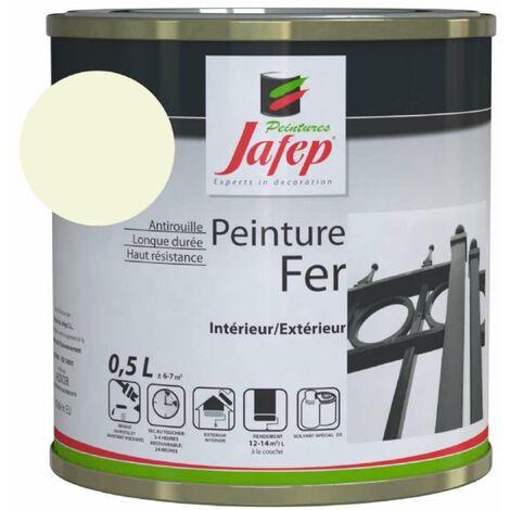 Peinture fer antirouille beige 0,5L 500 ml