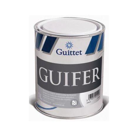 Peinture fer antirouille Guittet Guifer 1L Noir | Finition: Brillante - Couleur: Noir