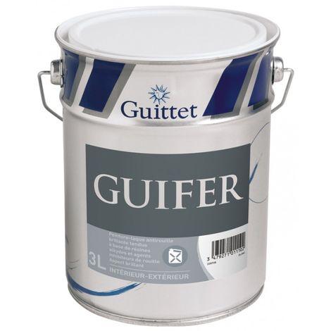 Peinture fer antirouille Guittet Guifer 3L Blanc | Finition: Brillante - Couleur: Blanc