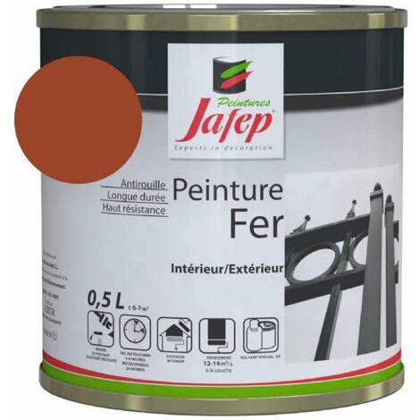 Peinture fer antirouille rouge 0,5L 500 ml