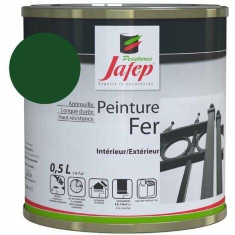 Peinture fer antirouille vert anglais Jafep 0,5 L