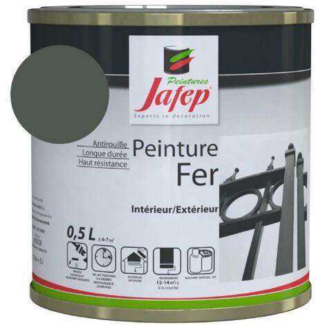 Peinture fer antirouille vert saule 0,5L 500 ml