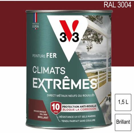 Peinture fer Climat Extrême mat 1,5L (teinte au choix) V33 - plusieurs modèles disponibles