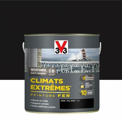 """main image of """"Peinture fer extérieur Climats extrêmes® V33 noir mat 2 l"""""""