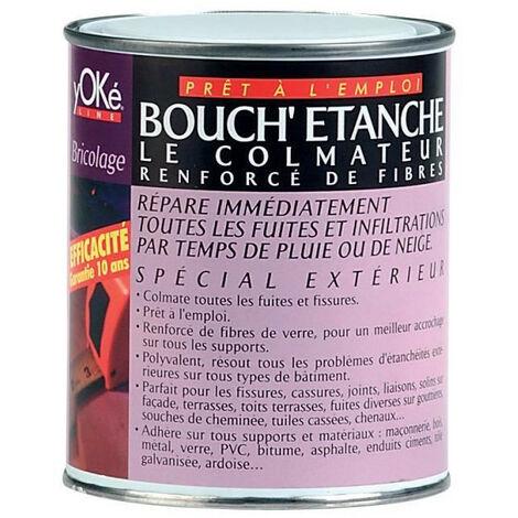 Peinture fibrée de colmatage réparation tuile gouttière - BOUCHETANCHE